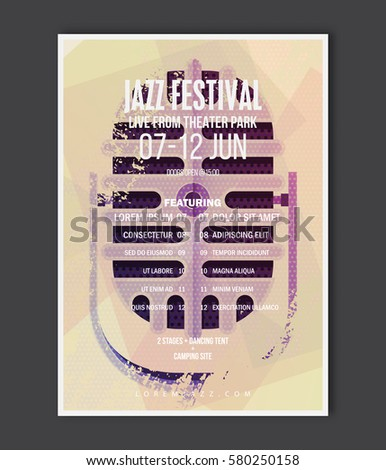 Live Music Poster Stock Images, Royalty-Free Images & Vectors