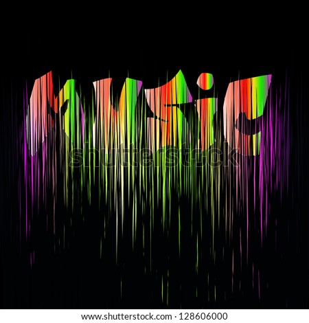 Music.range vector eps 10 - stock vector