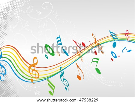 Music theme for more background of this type please visit my gallery, vector illustration