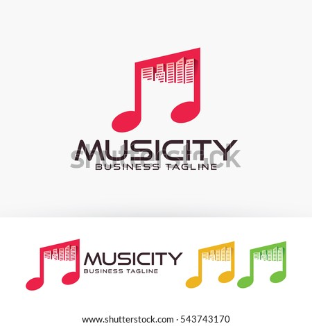 Art house vector logo template stock vector 604503410 for House music labels