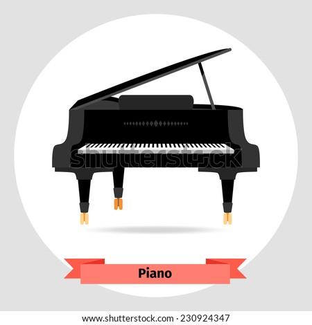 Musical instrument piano