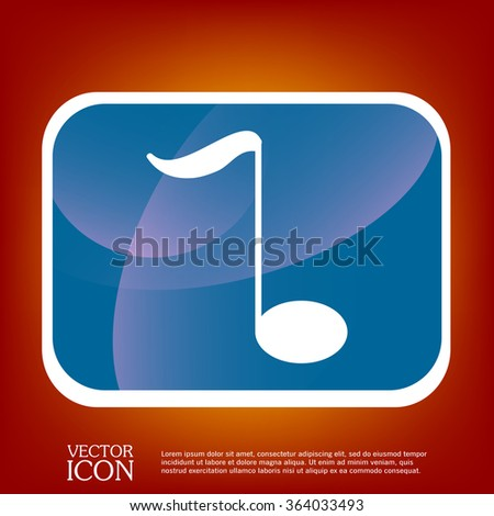 Musical Note Sign Character Singing Music Stock Vector Hd Royalty