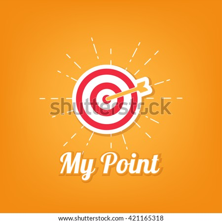 My point aim, Target. Sniper aim icon. Aim Icon, Dartboard arrow and icons. Business achievement and success concept. Straight to aim symbol. point aim, Target. Sniper aim. Aim Icon, Dartboard arrow - stock vector