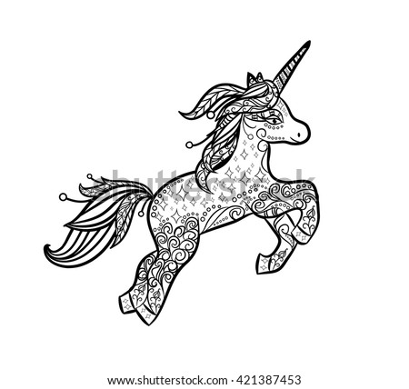 White Unicorn Stock Images Royalty Free Images Amp Vectors