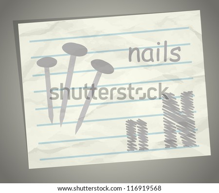 Is For Nail Stock Photos, Royalty-Free Images & Vectors ...