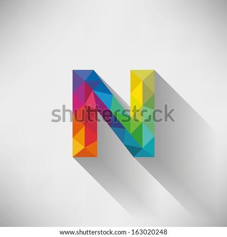 Letter n Logo Design n Letter Design