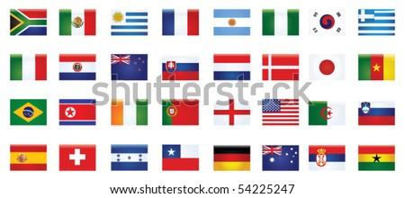 national flag - stock vector