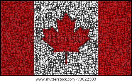 National Flag of Canada (America)