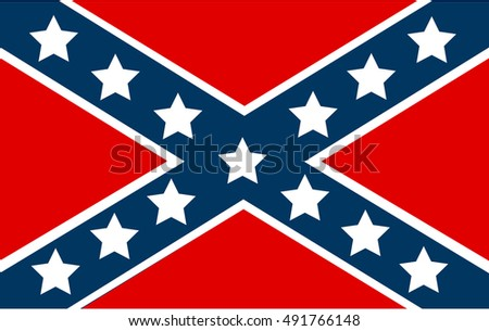 National flag of the Confederate States of America