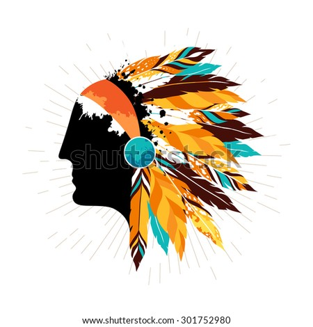 Native American Headdress Stock Images, Royalty-Free Images ...