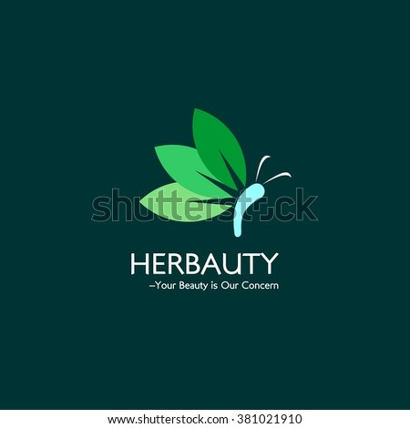 Natural and Herbal Beauty Care Logo