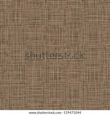 Natural linen background. Vector. Woven, threads texture. Napkin, table cover, tableware, textile - stock vector