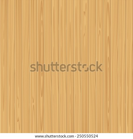 Natural wooden background. Seamless vector planks material.
