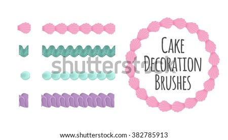 Cake With Icing Vector : Icing Stock Images, Royalty-Free Images & Vectors ...