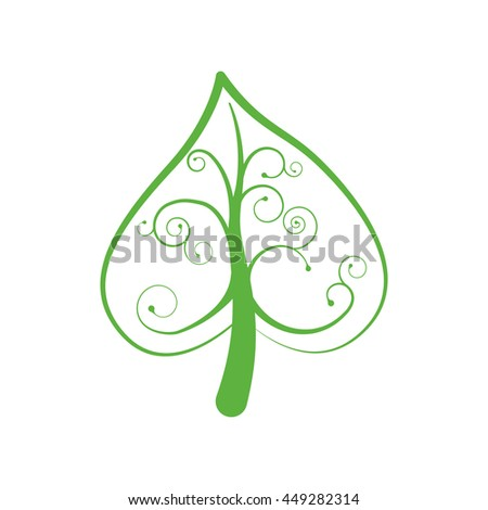 Nature and plant concept represented by tree icon. isolated and flat illustration