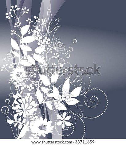 nature background 4 - stock vector