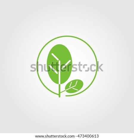 nature logo for apps and websites