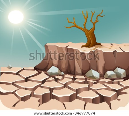 Adjective Hot Cold Illustration Stock Vector 346977140 - Shutterstock