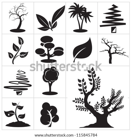 Nature symbol. Vector for you design - stock vector