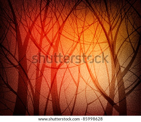 Nature theme background vector. eps10