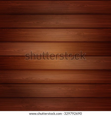 Nature Wood texture, vector background. Eps 10  - stock vector