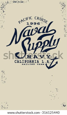 Nautical Design Sail vector collection .Hand drawing. naval vector Printing . Badge Application Label - stock vector