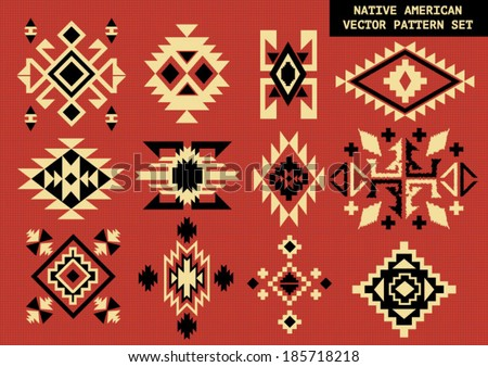 Native american design stock images royalty free images for Native design