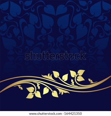 Navy blue flowers stock images royalty free images for Fondo azul marino