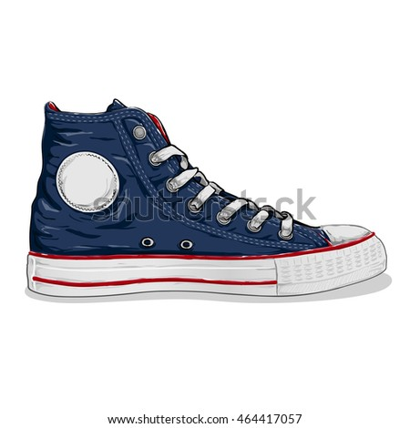navy blue sneaker shoes