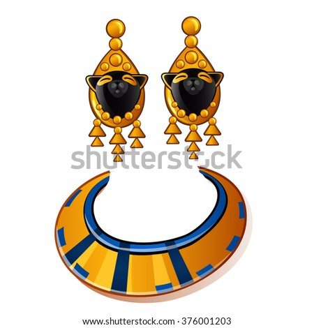 wholesale egyptian new wild ancient style drop pendant punk gemstone earrings ms exaggerated europe item