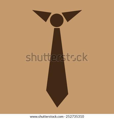 Necktie icon , Vector tie icons ,  tie - stock vector