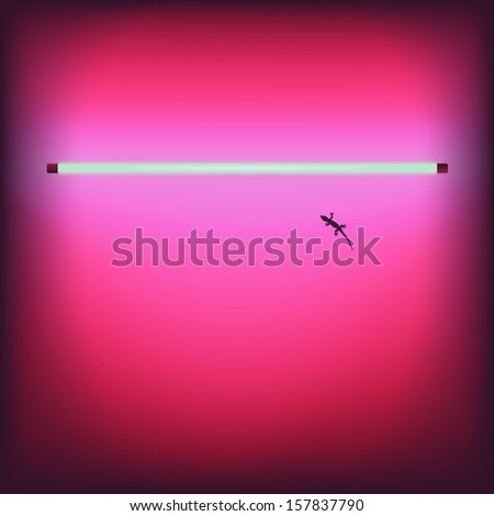 Neon sexy shop bar signboard - vector illustration.