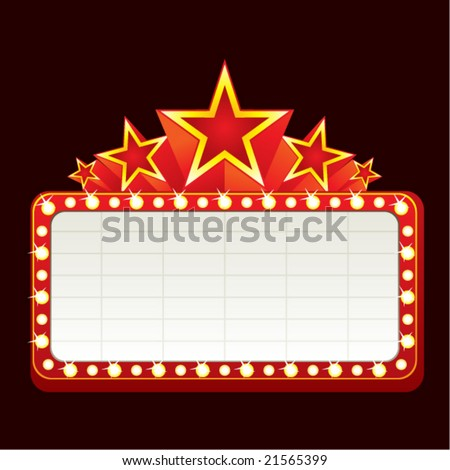 Neon sign - stock vector