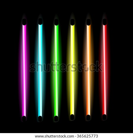 led tube lights stock images royalty free images vectors shutterstock. Black Bedroom Furniture Sets. Home Design Ideas