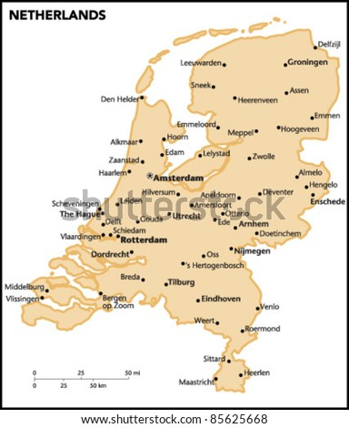 Amsterdam Map Stock Images RoyaltyFree Images Vectors - Amsterdam country map