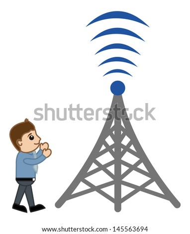 Network - Concept - Vector Illustration