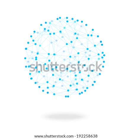 Network symbol, vector illustration - stock vector
