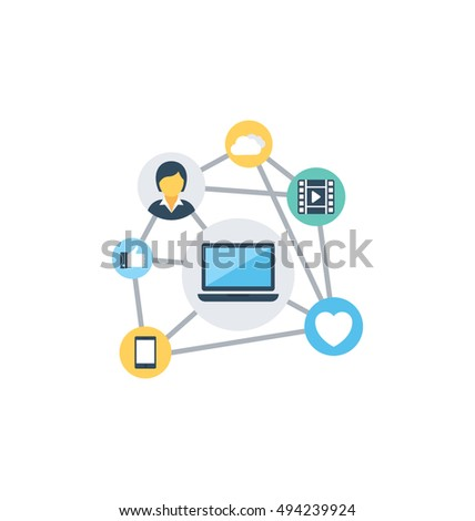 Network Vector Icon
