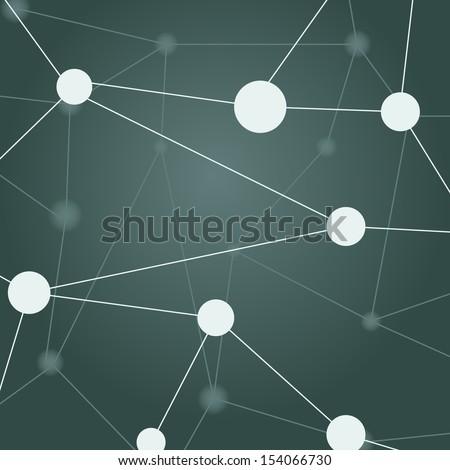 Network Vector Image - stock vector