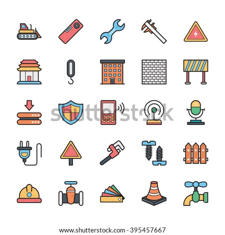 Networking, Web, User Interface and Internet Vector Icons 21