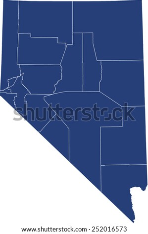 Nevada Map Stock Images RoyaltyFree Images Amp Vectors