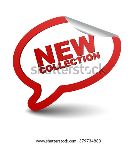 new collection, red vector new collection, red bubble new collection, sticker bubble new collection, element new collection, sign new collection, design new collection, picture new collection