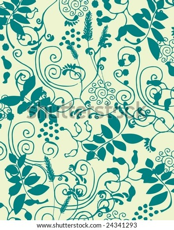 new fresh floral background 2 - stock vector