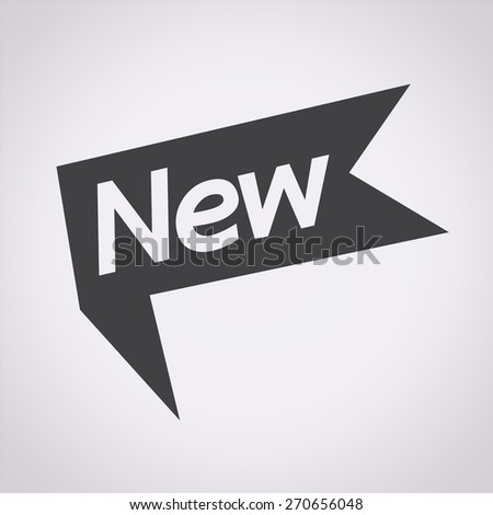 New icon design - stock vector