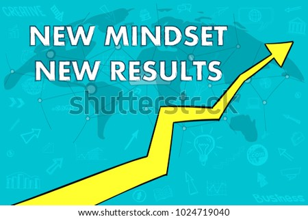 New mindset new results arrow up stock vector 1024719040 new mindset new results arrow up world map cloud concept gumiabroncs Image collections