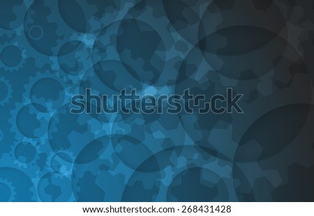 New Model Technology Business Background. Abstract innovation solution. - stock vector