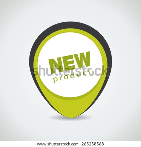 New product tag, can be used for special offer sticker as well - stock vector