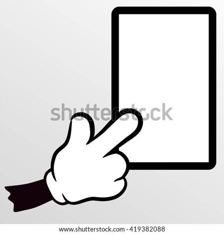 New tablet computer - stock vector