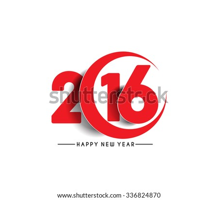 New year 2016 Calendar Design - stock vector
