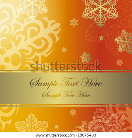 New Year's background - stock vector